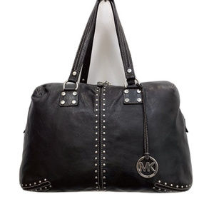 Michael Kors Black Astor Weekender Bag